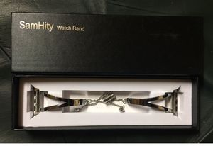Stainless Steel Watch Band Compatible with Apple Watch - Brand New for Sale in Hudson, FL