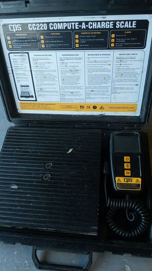 HVAC freon scale for Sale in El Paso, TX