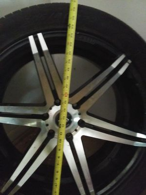 "22"" rims and tires $400 for Sale in Fayetteville, AR"