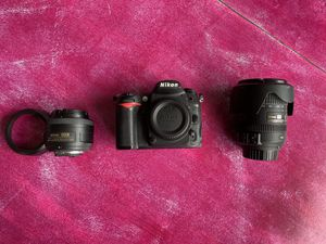 Nikon D7000 Kit 35mm & 18-200mm Lenses for Sale in Ridgefield, WA