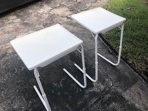 2 MULTIPURPOSE FOLDING TABLE for Sale in Miramar, FL