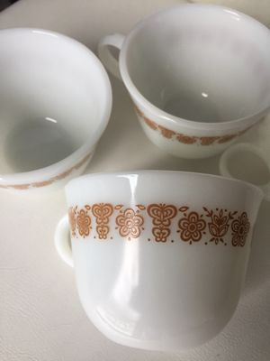 Pyrex CorningWare Cups for Sale in Indianapolis, IN