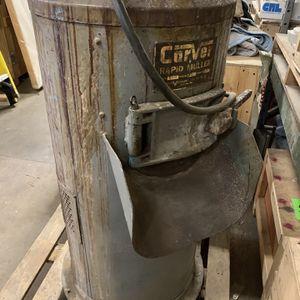 Carver Rapid Muller for Sale in Providence, RI