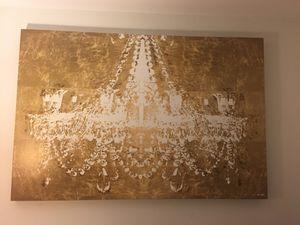 Canvas wrap Chandelier Wall Art for Sale in Oakland Park, FL