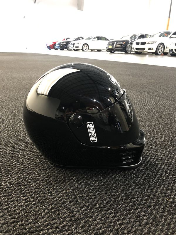 Simpson Street Bandit Medium Black with Smoke Shield