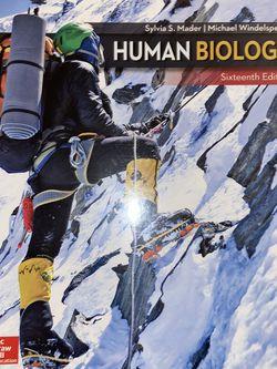 Human Biology Book for Sale in Kirkland,  WA