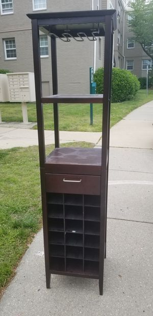 Wine rack cabinet for Sale in Washington, DC