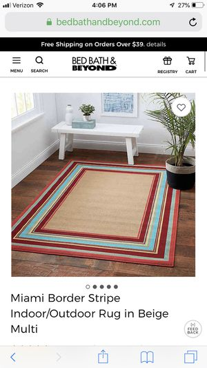 Outdoor BB&B rug for Sale in Rancho Cucamonga, CA