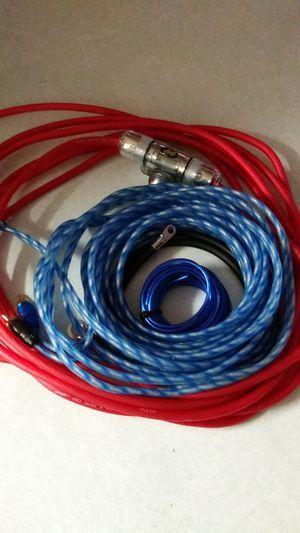 8gauge stinger amplifier wiring for Sale in Phoenix, AZ