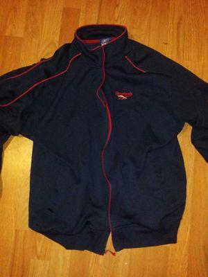 Reebok track jacket size large to xlarge for Sale in Detroit, MI