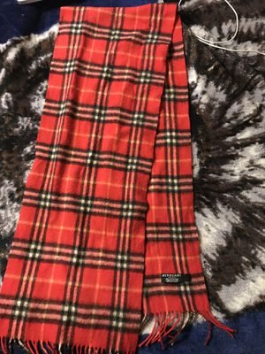 Burberry Scarf for Sale in UNIVERSITY PA, MD