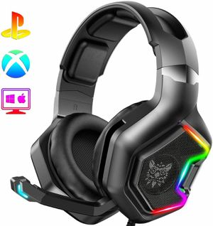 ONIKUMA PS4 Headset -Xbox One Headset Gaming Headset with 7.1 Surround Sound Pro for Sale in Alhambra, CA