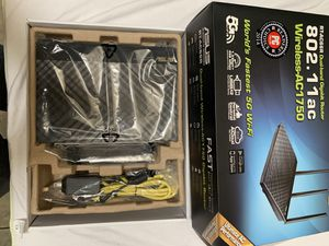 ASUS RT-AC66R Dual-band Wireless-AC1750 Gigabit Router for Sale in Fort Worth, TX