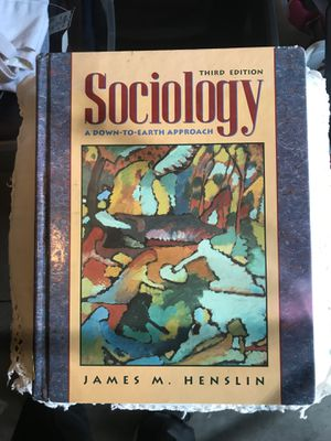 Sociology third edition for Sale in Fullerton, CA