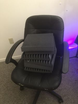 6 pieces of acoustic foam for Sale in Lemoyne, PA