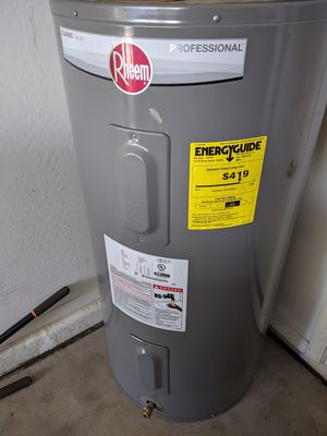Rheem Professional Classic series electric water heater 62 gallons. for Sale in Buckeye, AZ