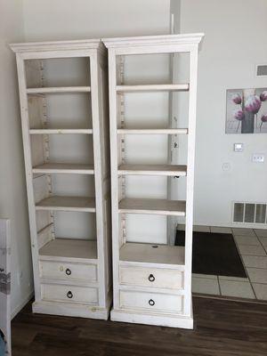 White book shelf cabinet for Sale in Stanton, CA