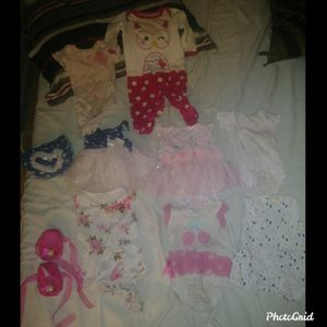 Cute Infant girl Clothes LOt ❤ for Sale in San Jose, CA