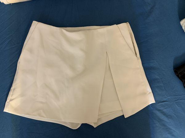 White Skirt from Express