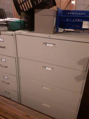 Filing cabinet 4 Large wide drawer. $150 obo for Sale in Bessemer, AL