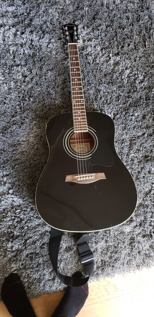 Ibanez Acoustic Guitar (includes bag and strap) for Sale in Tacoma, WA