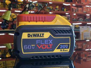 DEWALT 20v AND 60v LITHIUM 9.0AH BATTERY for Sale in Turlock, CA