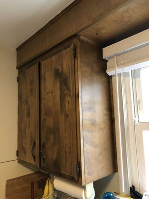Kitchen cabinets - Free you uninstall and haul away! for Sale in Seattle, WA