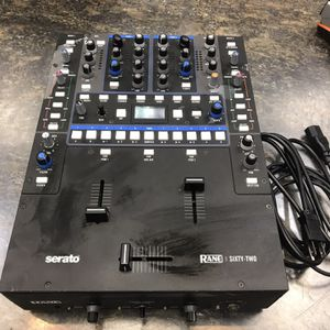 Rane Sixty Two Mixer 2 Channel Serato DJ Pro + Scratch Live, Mixer, Dj Mixer , Serato Mixer, Rane 62, Serato for Sale in South Gate, CA