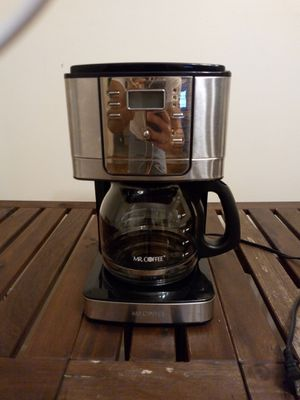 Mr Coffee JWX 12-cup, stainless steel for Sale in Davie, FL