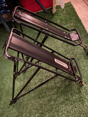 2 bicycle rear rack carriers (GIANT & DELTA BRANDS) *COMES WITH THE SCREWS* for Sale in Boynton Beach, FL