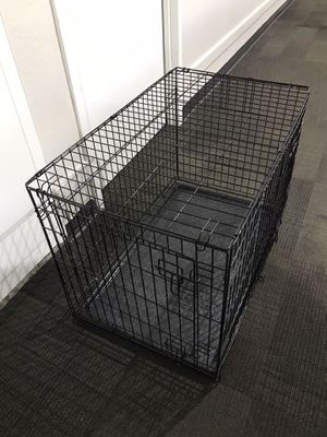 Dog cage folding medium for Sale in Cary, NC