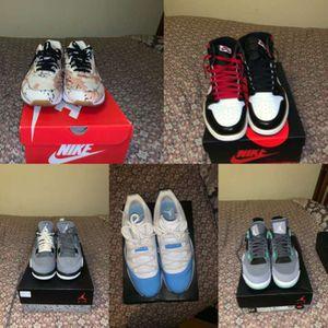Air Jordan's/ Nikes Size 12 for Sale in Toms River, NJ