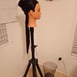 Manequin With Long Hair/ Tripod Is Separate ,if You Want It, I Can Sell It To You for Sale in Orlando, FL