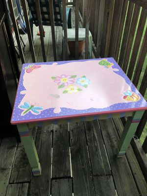 Kids Table Two Chairs Included for Sale in Old Bridge Township, NJ