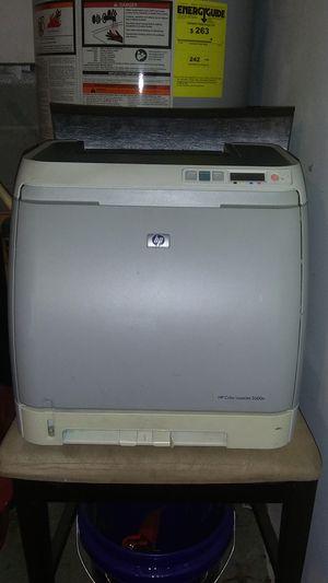 HP Color Laser Jet 2600N Printer & Toner for Sale in Nashville, TN
