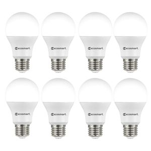 60w equivalent A19 non dimmable LED light bulb soft white,36 count for Sale in Irving, TX