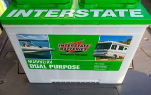 Interstate Batteries (2 of them) Marina/RV for Sale in Riverside, CA