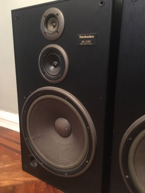 Two Technics Sb Lx90 Speakers For Sale In Queens Ny Offerup