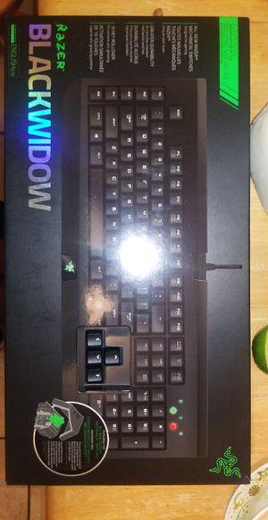 Razer Blackwidow with Razer Mousepad for Sale in Stanton, CA
