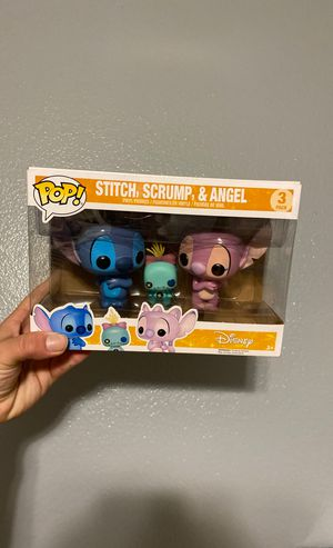 Funko Pop Stitch 3-pack for Sale in Encinal, TX