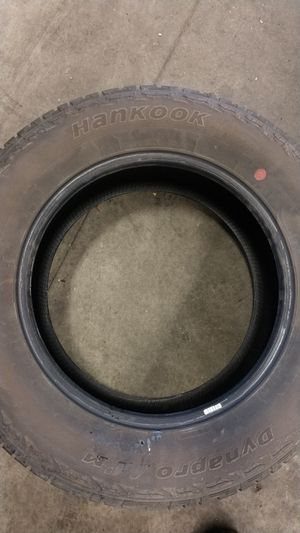 Hankook tire 265 60 R18. for Sale in Salt Lake City, UT