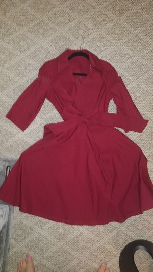 vintage 1950s red dress size Xl or 0x for Sale in La Mesa, CA