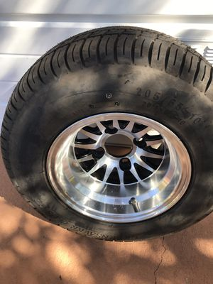 1 like new golf cart wheel and tire20.0 x8.0 x10 for Sale in Winter Haven, FL