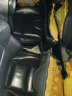 2004-2008 Mazda Rx-8 Front And Rear Seats Black for Sale in Chicago,  IL
