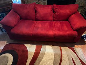 Suede Sofa & Loveseat for Sale in Bartow, FL