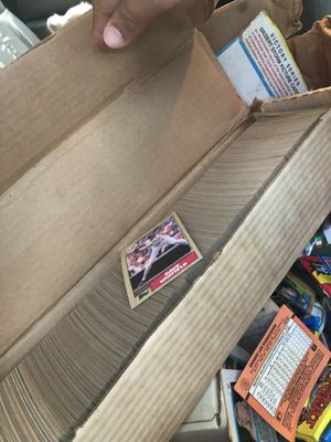 Lots of Topps baseball cards and football cards for Sale in Durham, NC