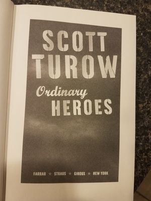 Ordinary Heroes by Scott Turow for Sale in Providence, RI