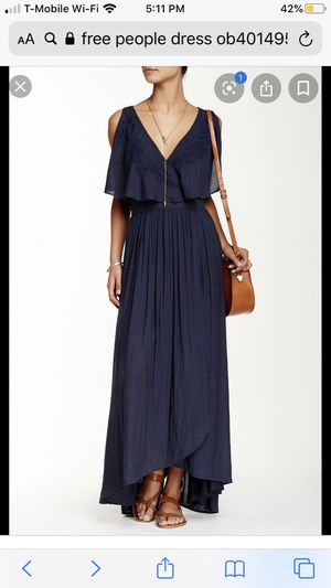 Free People Fiona Maxi Dress Midnight Color for Sale in Duluth, GA