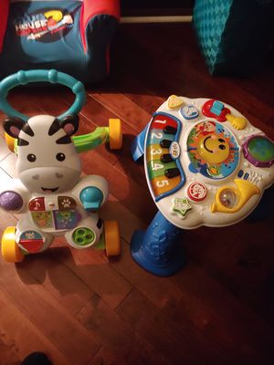 Vtech walker and musical table for Sale in Elmwood Park, IL