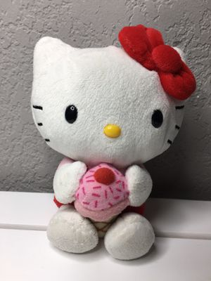 Hello Kitty with ice cream small plush no tush tag for Sale in Los Angeles, CA